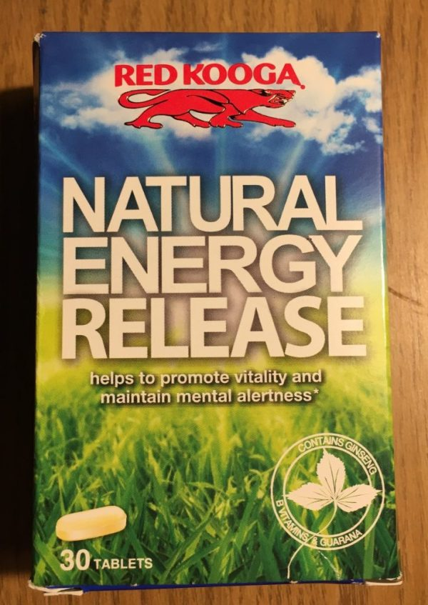 Red Kooga Natural Energy Release Review - Hoyles Fitness