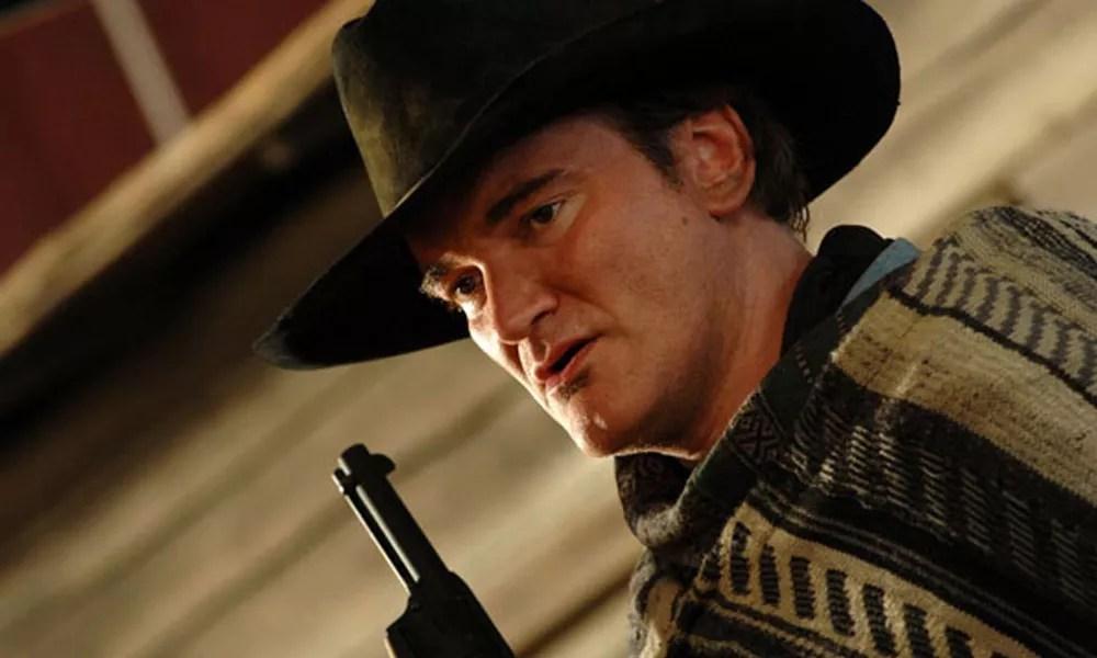 Tarantino en uno de sus múltiples cameos