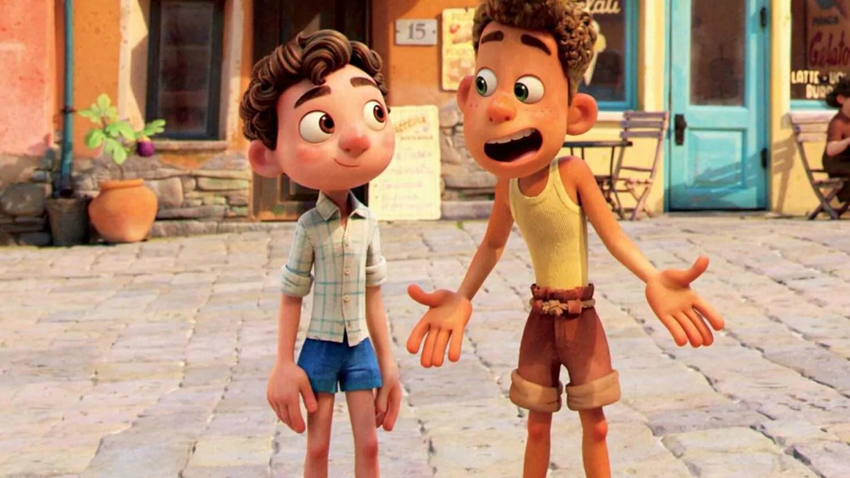 Luca y Alberto en una escena de la película. Foto: Empire