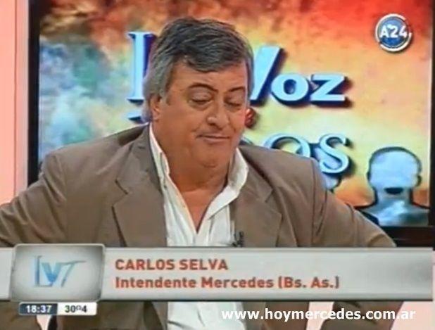 """Carlos Selva en """"América 24"""""""