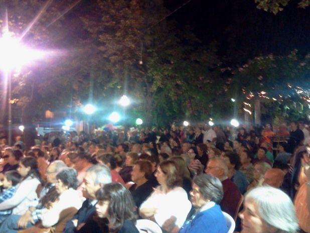 Verano en las plazas 2013 - Cierre en Plaza San Martín