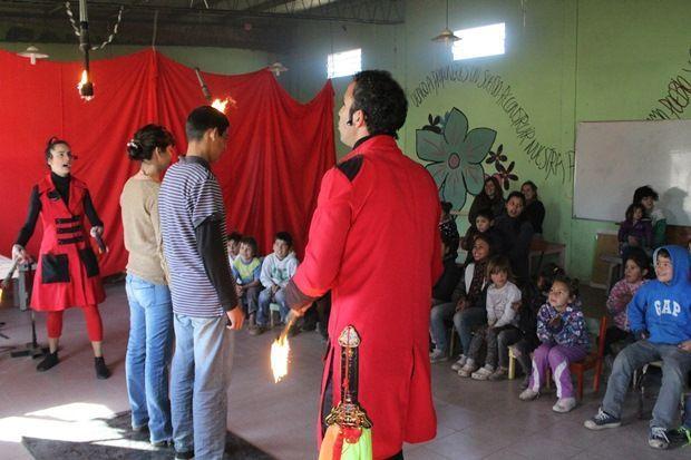 Actividades en Barrio Marchetti