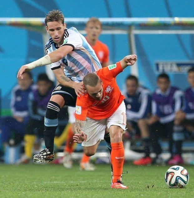 Lucas Biglia - Argentina Holanda