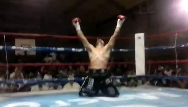 """Walter """"Yacaré"""" Sequeira volvió a vencer por nocaut"""