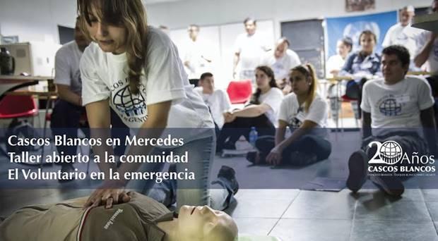 Invitados por Ustarroz, los «Cascos Blancos» realizarán capacitación a voluntarios