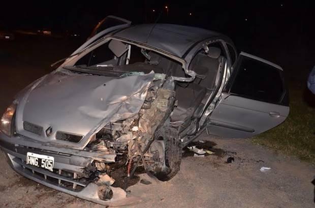 Mercedino involucrado e internado tras choque en Ruta N°5 altura Luján