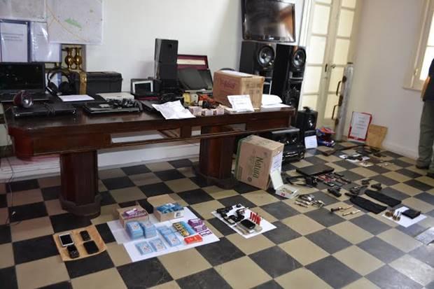 7 detenidos tras 10 allanamientos previa investigación de la Policía local