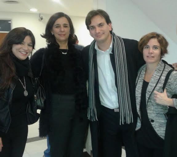 Selva, Bozzini y Dulevich prensentes en San Isidro contra la violencia de género junto a Massa