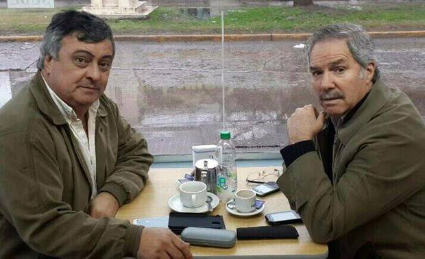 Felipe Solá visitó la ciudad y se reunió con el intendente Selva