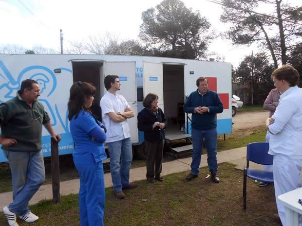 Denápole y un rol activo en el operativo pos inundaciones