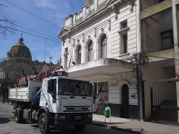 Iniciaron obras de reparación del Teatro J.C.Gioscio por casi 2 millones