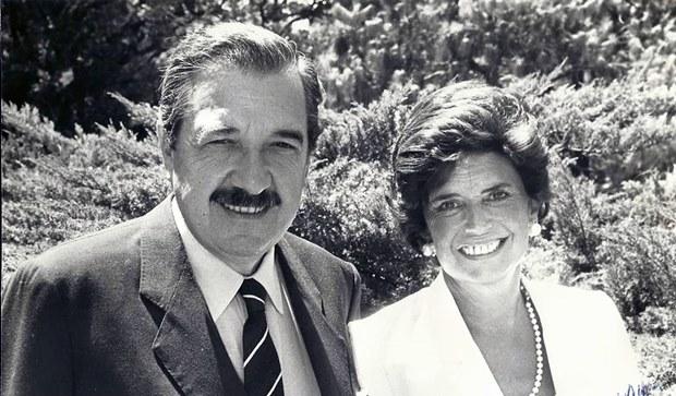 Pesar por fallecimiento de María Lorenza Barrenechea de Alfonsín