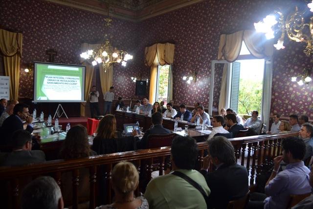 Se reunieron los Intendentes de la Cuenca del Río Luján