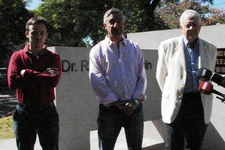 La UCR Mercedes homenajeó a Alfonsín a siete años de su fallecimiento