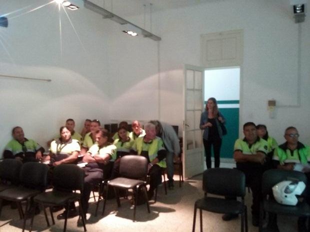 Agencia de Seguridad Vial y Control Urbano capacitan agentes de tránsito