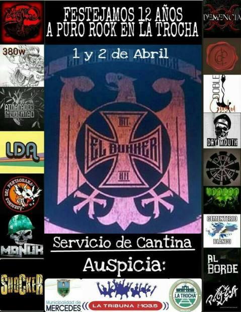 """Carlos """"El Bunker"""" Brea y un festival de Rock!"""