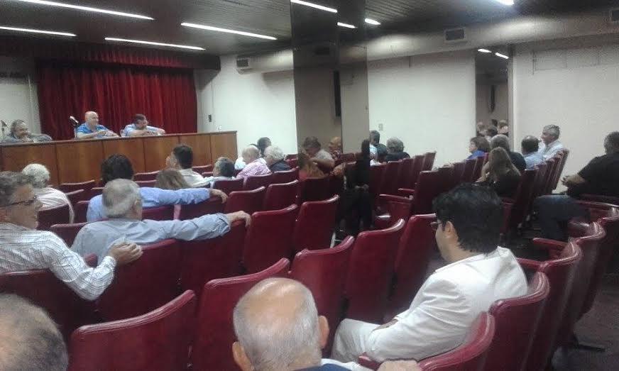 Albini fue parte de la reunión de UCR de la Primera Sección Electoral