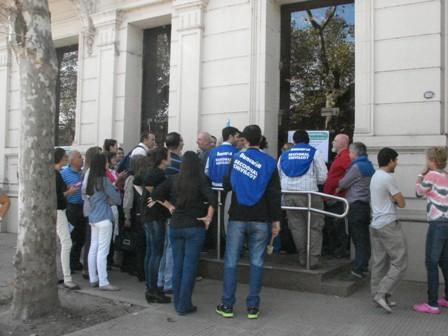 Bancos cerrados en la toda la ciudad