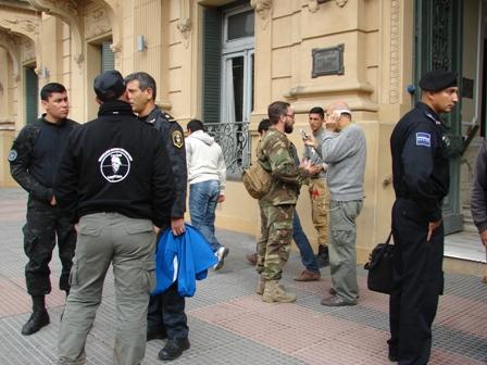 Instructores de Brasil y México capacitaron a los agentes mercedinos