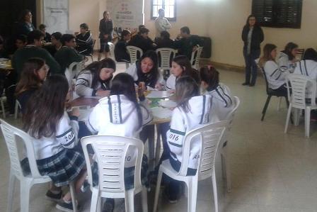 Realizaron orientación vocacional para jóvenes mercedinos