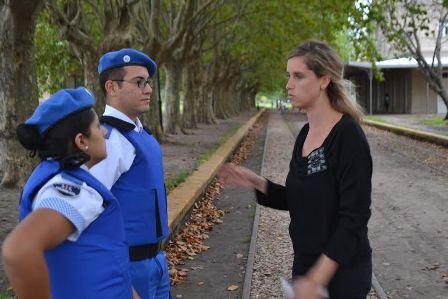 «Estamos convencidos que la Policía Local llegó para brindar mayor seguridad a los vecinos de Mercedes»