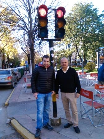 Cestari propone la modernización de los semáforos