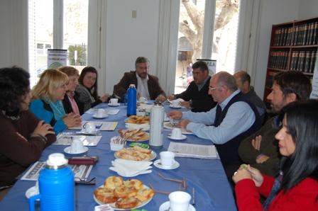 Comercio Provincial se reunió con Producción, AROPEA y CEM