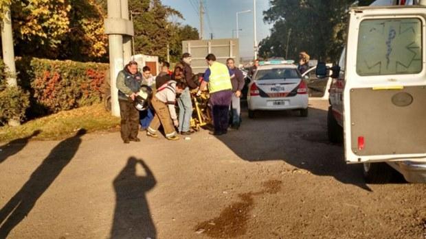 Impactante tiroteo entre bandas de motociclistas en Luján