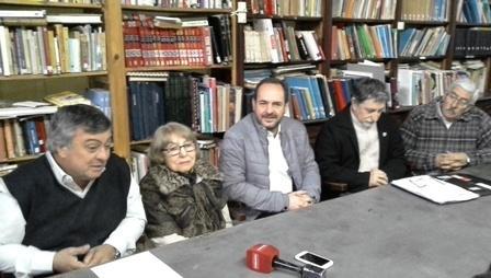 Convenio entre la Biblioteca Sarmiento y la del Congreso Nacional