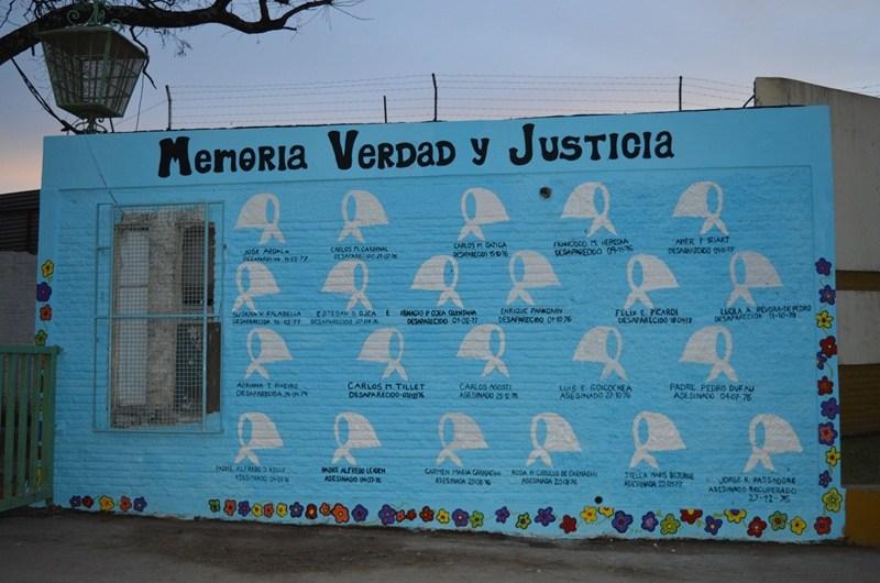 En aniversario de la Noche de los Lápices se restituyó mural en Parque Municipal