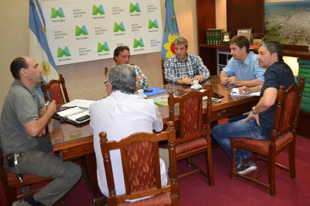 El Municipio se reunió con EDEN y la Cooperativa Levin