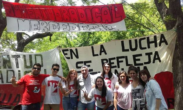 Juventud Radical Mercedes participó de Campamento provincial