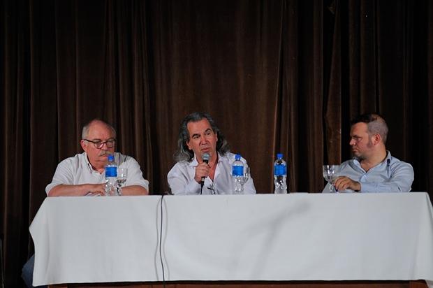 Llonto, Pisoni y Lombardo hablaron de DDHH, Dictadura e Historia Local