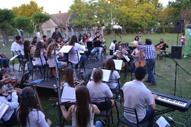 Cierre musical de la Orquesta Escuela