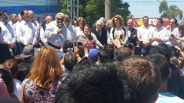 Ustarroz acompañó a Pepe Mujica en el homenaje a José Artigas