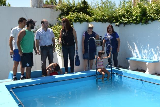 Concejales del FMPV visitaron escuelas de verano