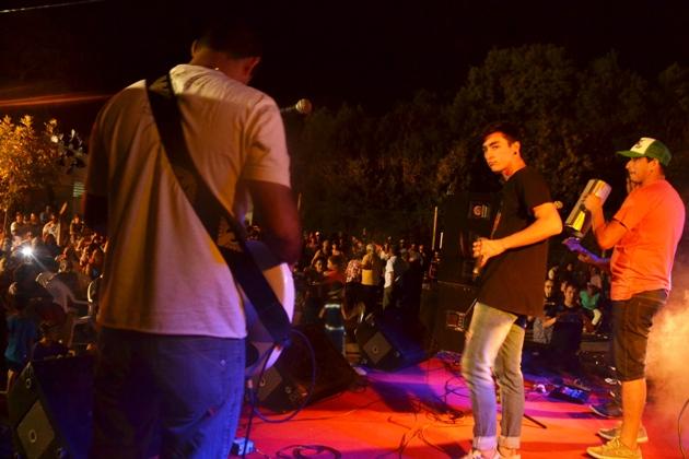 Gowland se «vivió» con música en su plaza