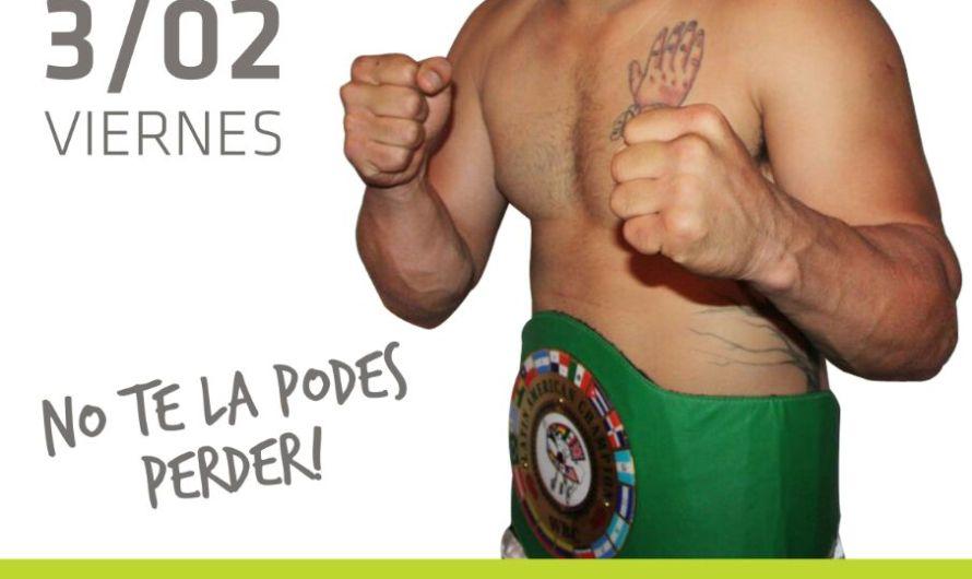 Walter Sequeira pelea este viernes