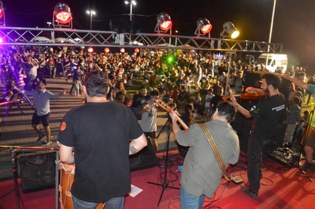 Cerró el ciclo Música en las Plazas en La Trocha
