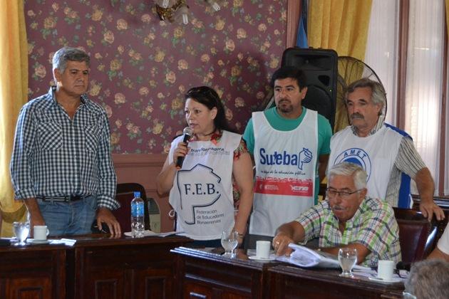 Docentes denunciaron persecución del Ministerio de Trabajo
