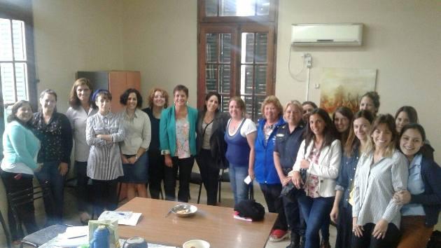 El Consejo Provincial de Mujeres se reunió en Mercedes
