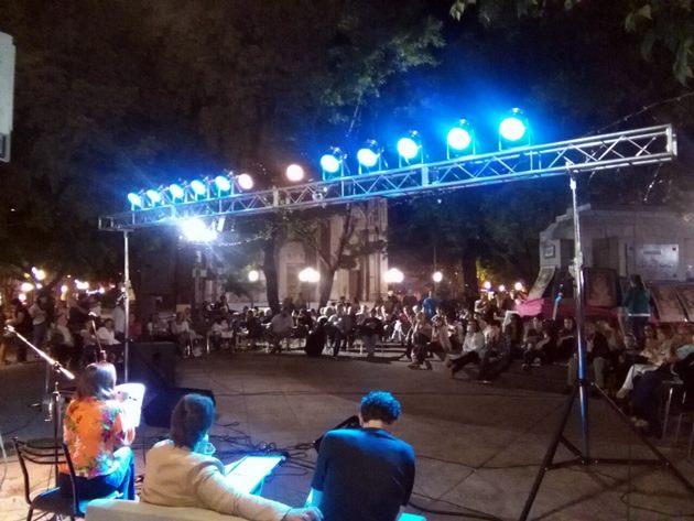 Asistida vigilia del 24 de marzo en Plaza San Martín