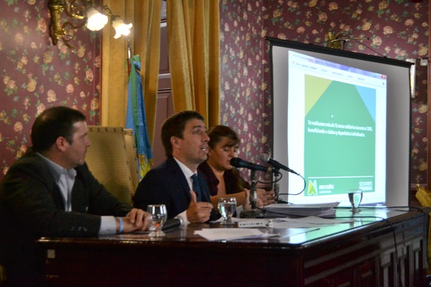 Ustarroz abrió el período de sesiones ordinarias del HCD