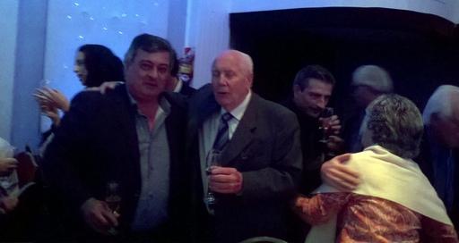 Oliva, Giovanetti, Gianaschi y Selva, presentes en el aniversario del Club Ciclista Nación