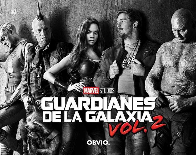 Los Guardianes de la Galaxia llegan al Cine Mercedes