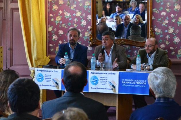 """El Frente Renovador y el GEN presentaron los proyectos para """"bajar los precios"""""""