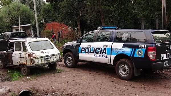 Fuerte operativo antidrogas en General Rodríguez