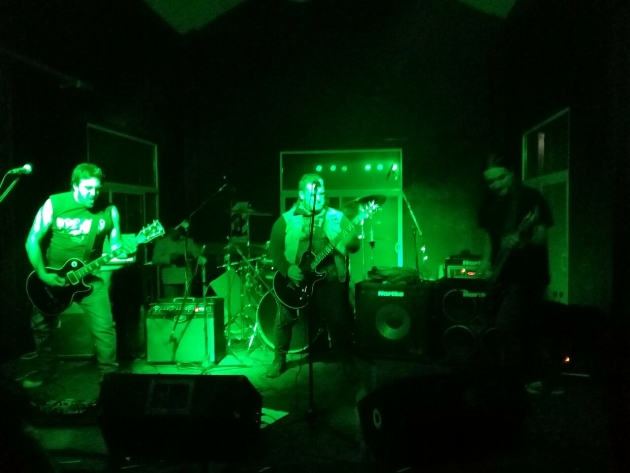 El Galpón de La Trocha lució rock mercedino