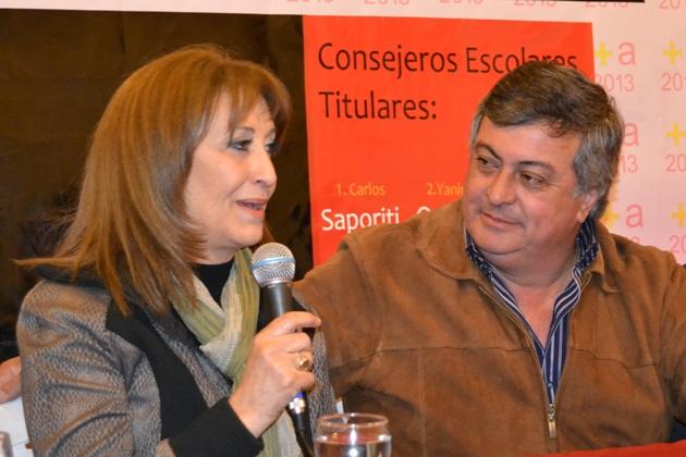 Mirta Tundis y Carlos Selva presentarán proyectos para discapacitados y jubilados
