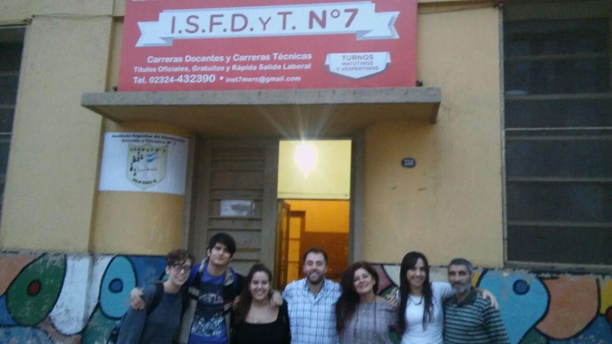 Pablo Massa es el nuevo presidente del Centro de Estudiantes del I.S.F.DyT N°7